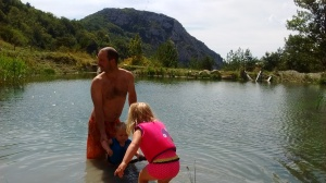 wild swimming france drome region
